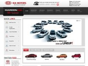 Maroon KIA Website