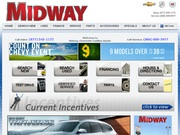 Midway Chevrolet Buick Cadillac Website