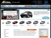 Mile High Honda & Acura Website