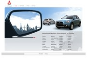 Mitsubishi Motor Sales Website
