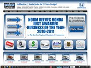 Honda of Cerritos Norm Reeves Website