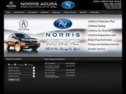 Norris Acura West Website