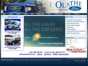 Olathe Ford Lincoln Website