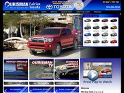 Ourisman Fairfax Toyota Website