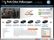 Park Cities Volkswagen Website