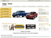 Toyota of Cerritos Website