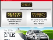 Priority Toyota Website