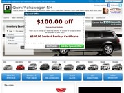Quirk Vw Nh Website