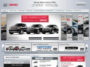 Randy Marion Buick GMC Website