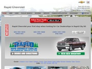 Rapid Chevrolet Co Website