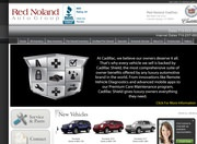 Red Noland Cadillac Website