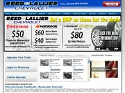 Reed Lallier Chevrolet Website