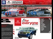 Jim Robinson Toyota Website