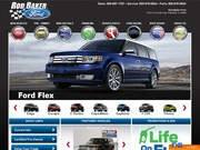 Rod Baker Ford Website