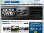 Ronan Dodge Chrysler & Jeep Website
