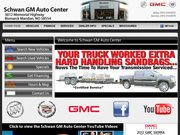 Schwan Pontiac GMC Website