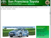 San Francisco Toyota – New Car Sales