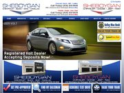 Sheboygan Chevrolet Website