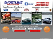 Shortline Kia Website