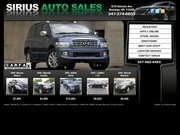 Sirius Auto Sales Website