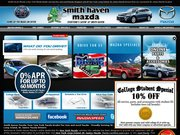 Smith Haven Mazda Website