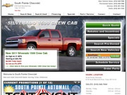 South Pointe Chevrolet Website