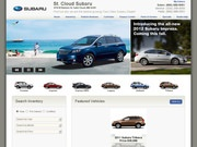 St. Cloud Subaru Website