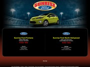 Sunrise Ford Website