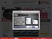 Sutherlin Nissan of Fort Myers Website