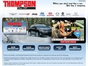 Thompson Lincoln Hyundai Dodge