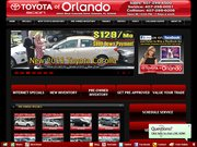 Toyota of Orland Website