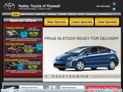 Roswell Toyota Website