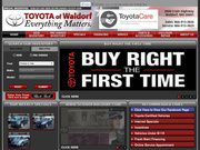Toyota of Waldorf Website