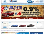 Trickett Honda Website