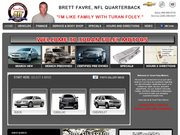 Turan Foley Chevrolet Cadillac Buick Website