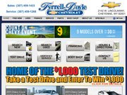 Tyrrell-Doyle Chevrolet Website