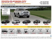 Legacy Toyota of Union City Website