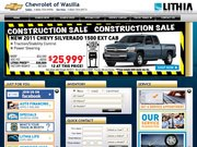 Chevrolet of Wasilla Website