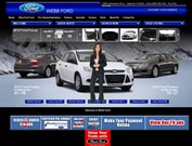 Webb Ford Website