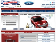 Wickstrom Ford Website