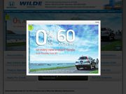 Wilde Honda Website