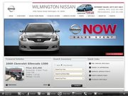 Wilmington Nissan Website