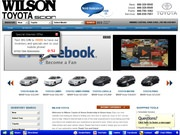 Wilson  Cadillac Co Website