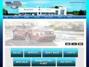 Winner Ford Website